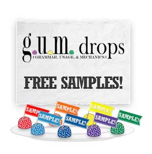 Download Free Samples of GUM Drops