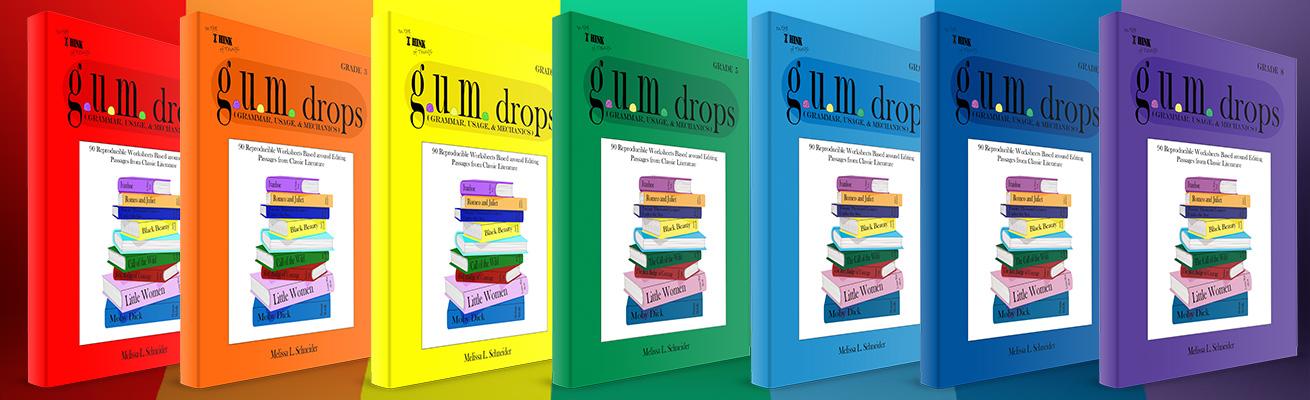 GUM Drops Grammar Grades 1-8